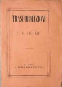 Frontespizio delle Trasformazioni (1864)