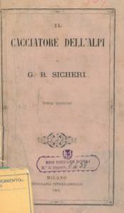 Frontespizio de  Il Cacciatore dell'Alpi (1864)