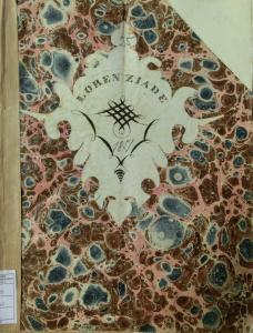 Frontespizio del manoscritto della Lorenziade (1851)