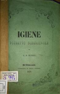 Frontespizio dell'Igiene (1858)